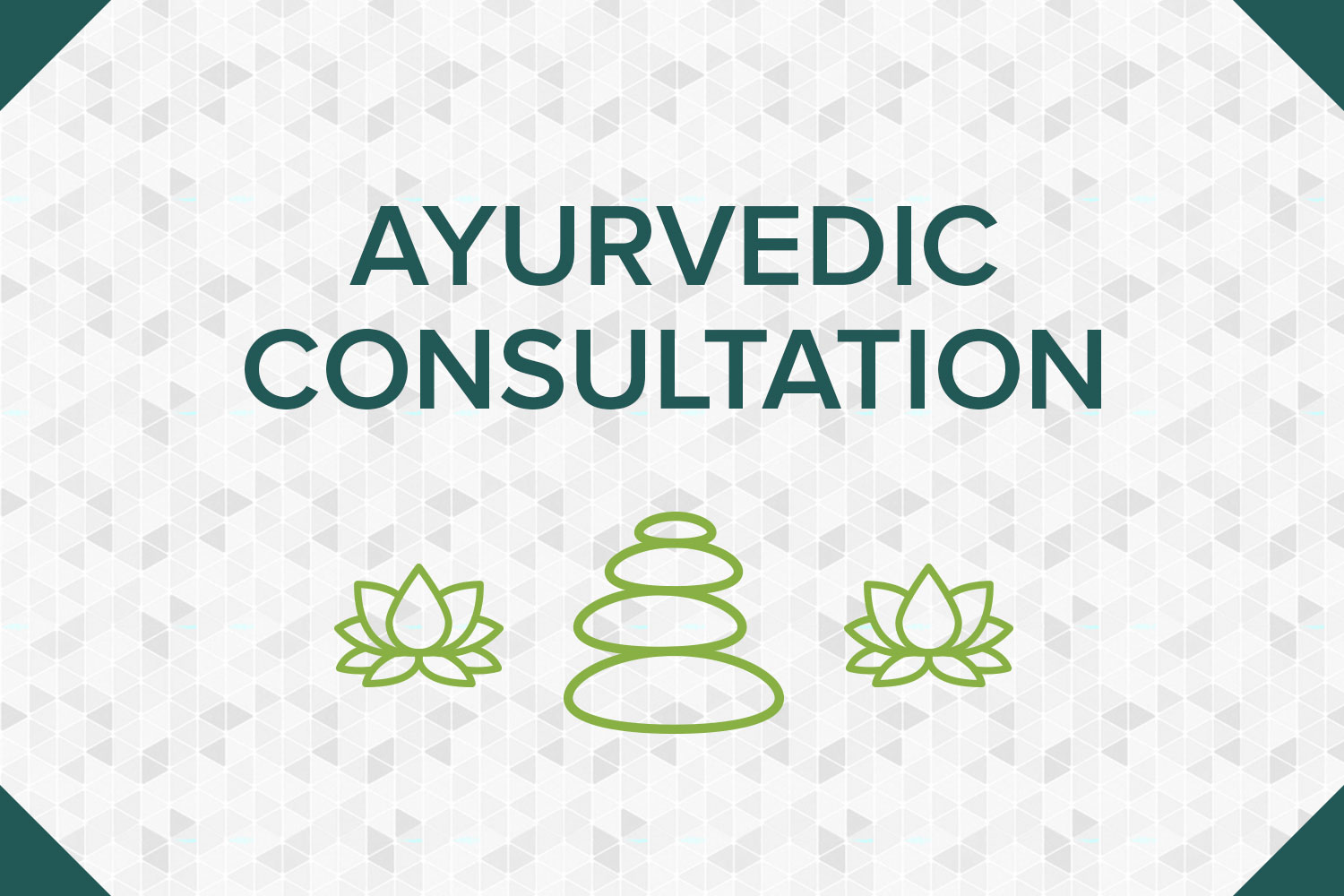 Ayurvedic Consultation - An Ayurvedic Consultation is a comprehensive exam with the intention of uncovering the root cause of what ails you, taking a step back and looking at the whole picture of your health history, lifestyle, and you as a person. Available via phone or Skype!