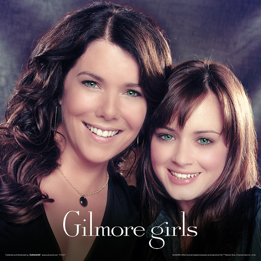 TTS121 GILMORE GILRS - Lorelai and Rory Vintage FRONT.jpg