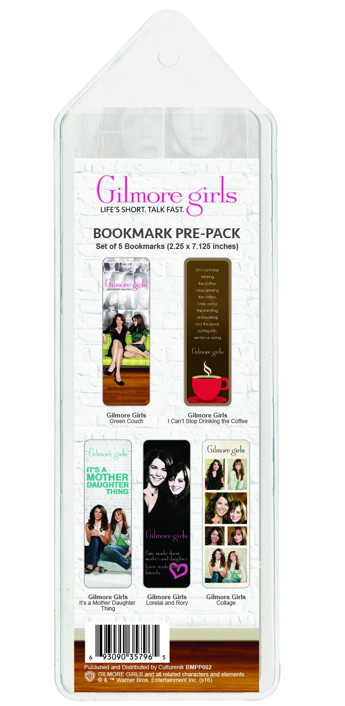 BMPP002 Gilmore Girls Bookmark Pre-Pack BACK.jpg