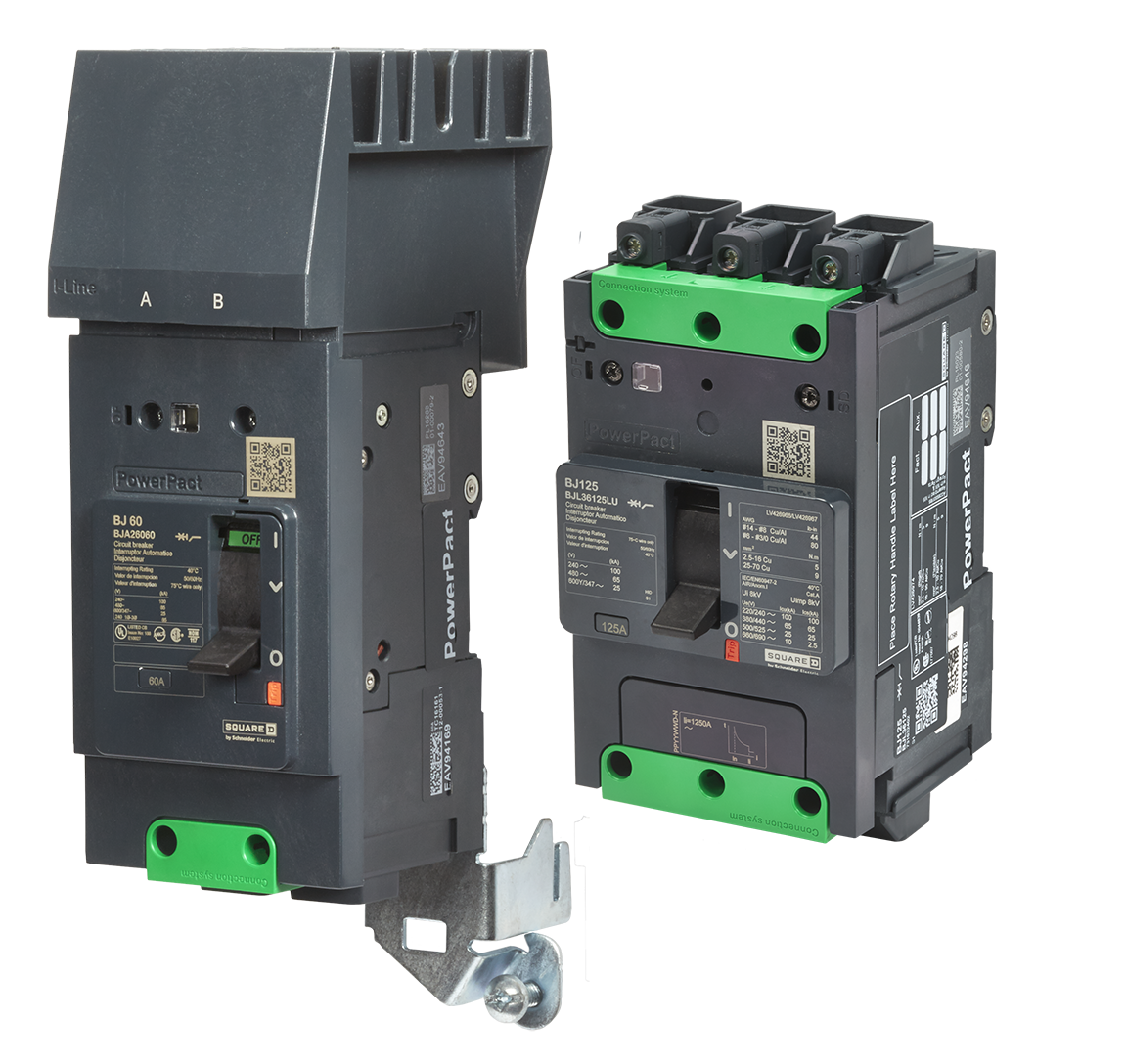 PowerPact B Circuit Breakers