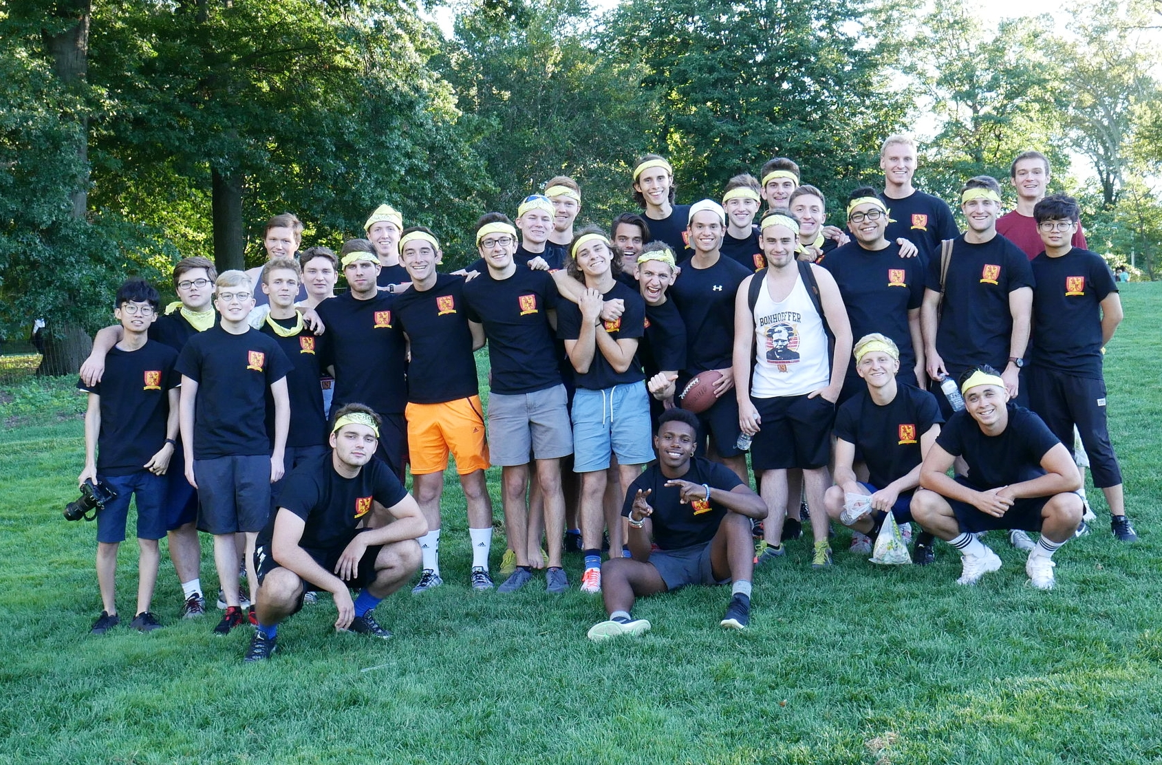 The House of Dietrich Bonhoeffer at the 2016 Great Race Competition. Photo used with permission.