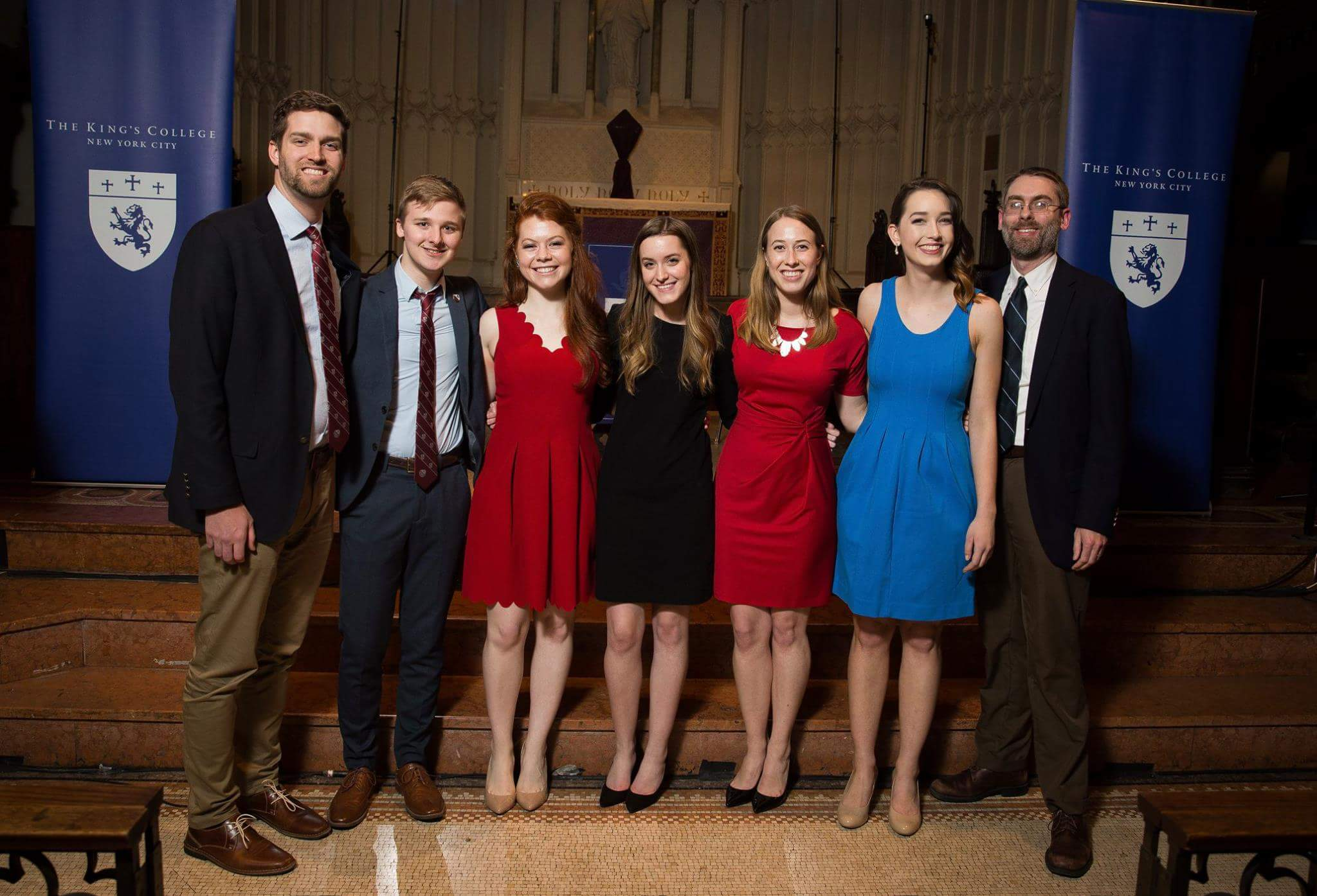2016-2017 Interregnum Committee | Photo from The King's College