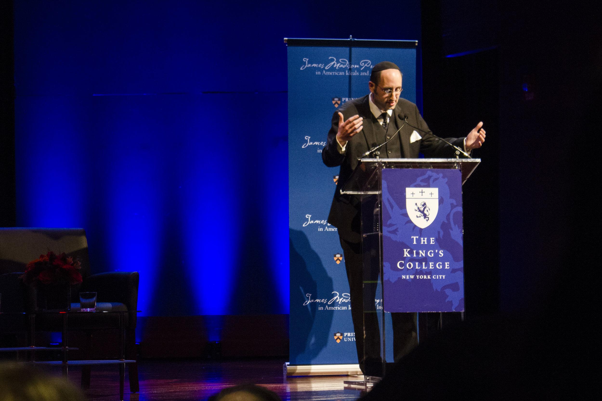 Rabbi Dr. Meir Y. Soloveichik | Photo by Bernadette Berdychowski