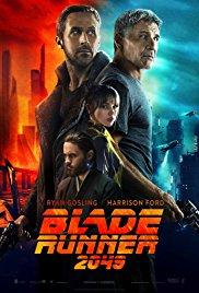 Movie poster for  Blade Runner 2049