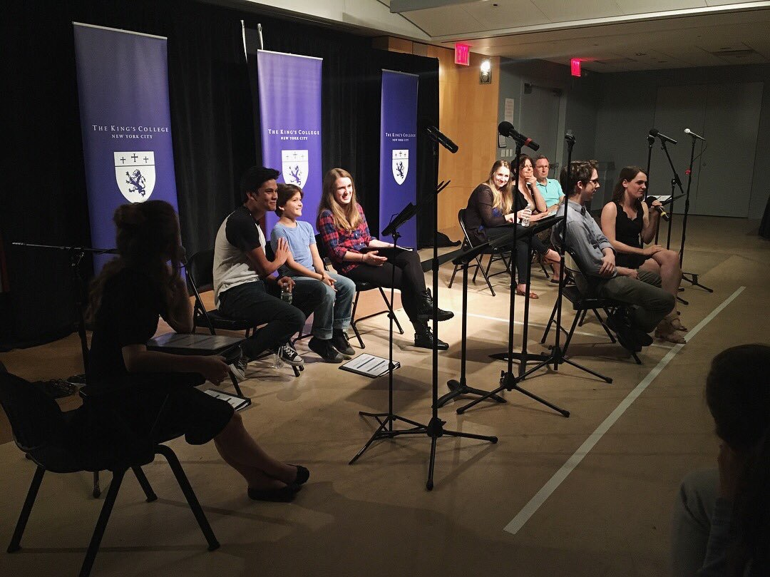 Student Org panel during Civics Week Fall Semester | Photo from The King's Players