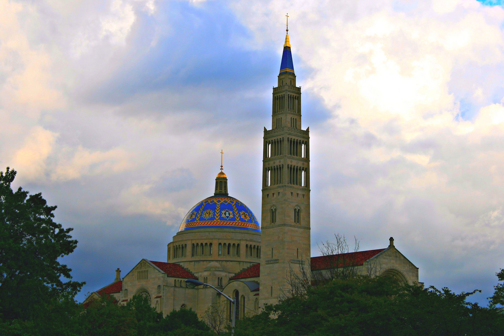 National Shrine of the Immaculate Conception in Washington D.C. || Photo Courtesy of Flickr