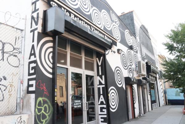 No Relation storefront || Photo credit to Rachel Freeman