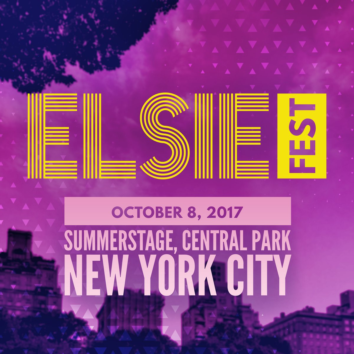 All copyright to Elsie Fest. This was the official. poster last year.