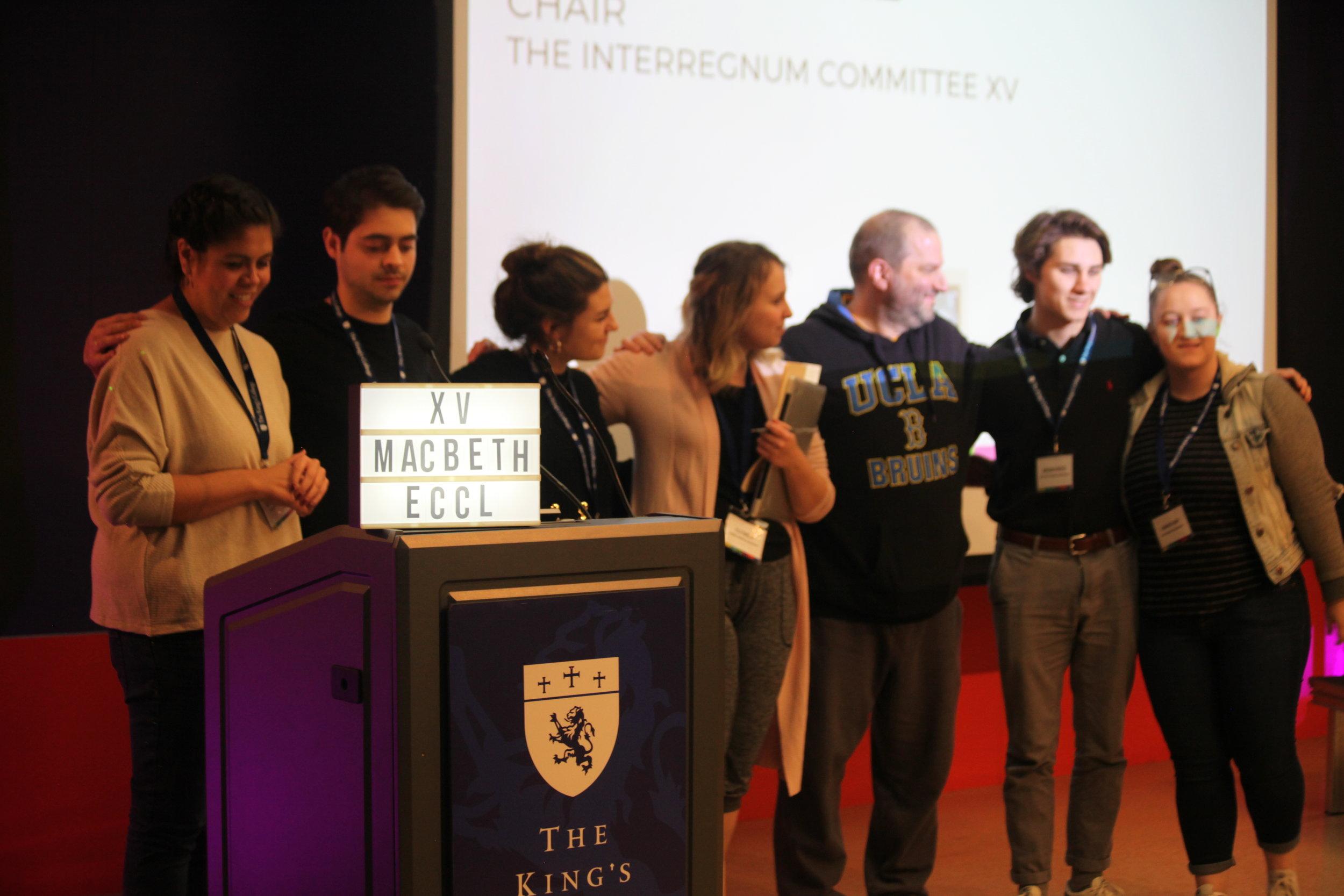 The Interregnum Committee. || Photo Credit to Elli Esher.