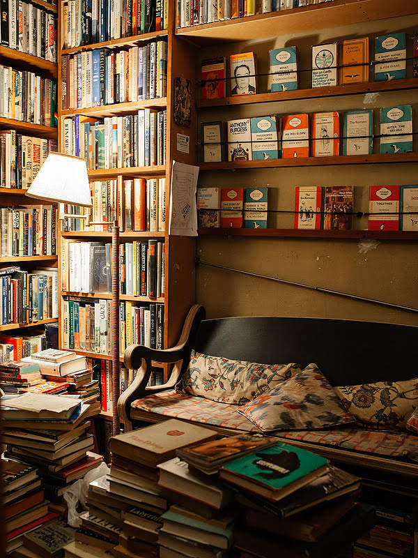 A nook inside of Brazenhead Books. || Photo credit to Brian Ferry