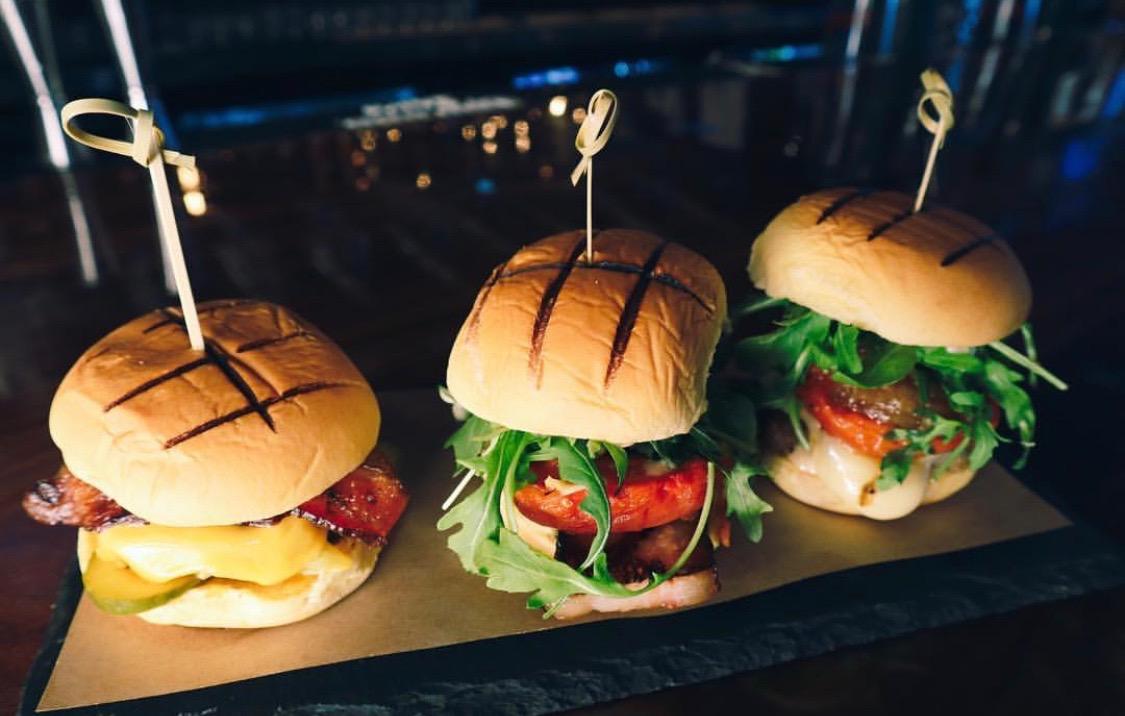Bacon burgers served as BarBacon. || Photo from the BarBacon Instagram: @bar_bacon