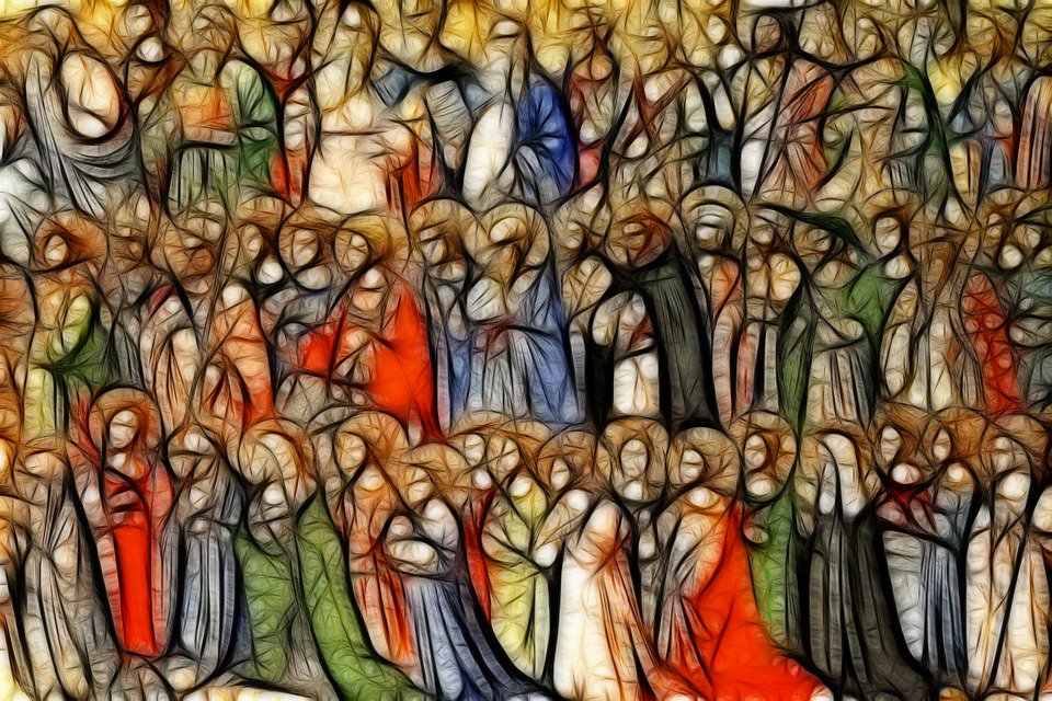 The Forerunners of Christ with Saints and Martyrs, Fra Angelico, 1423-1424, The National Gallery, London. || The National Gallery Website