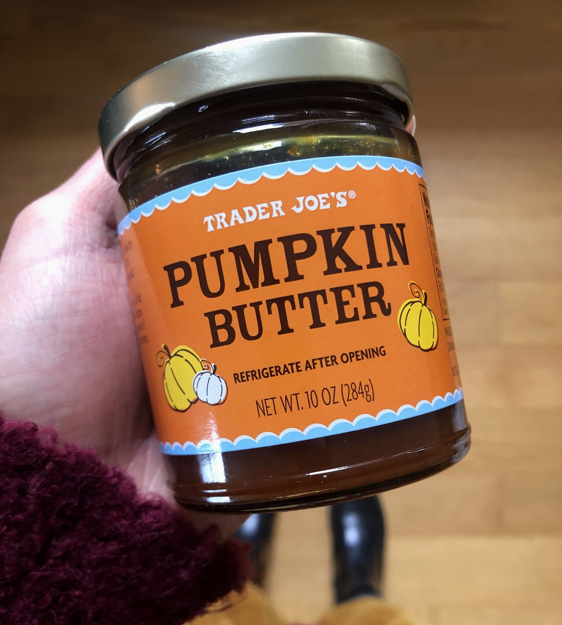 The Trader Joe's Pumpkin Butter. || Photo credit to Serena Tuomi