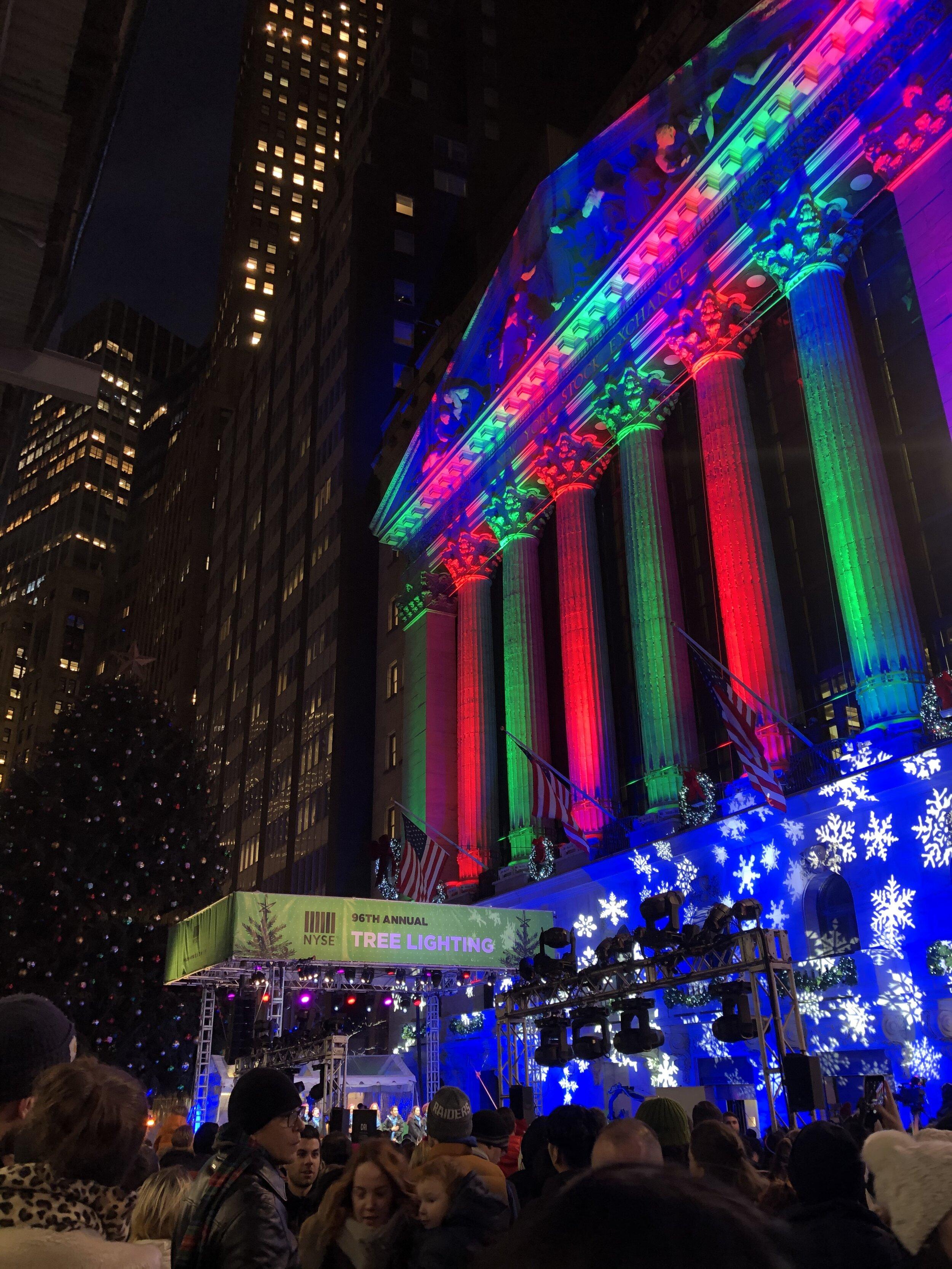 Holiday Tree Lightings Brighten Up The City — Empire State Tribune
