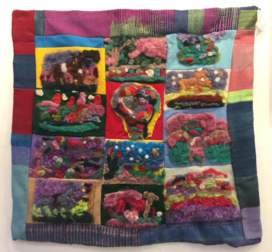 Wall   Quilt     by   Diane    Black   2016