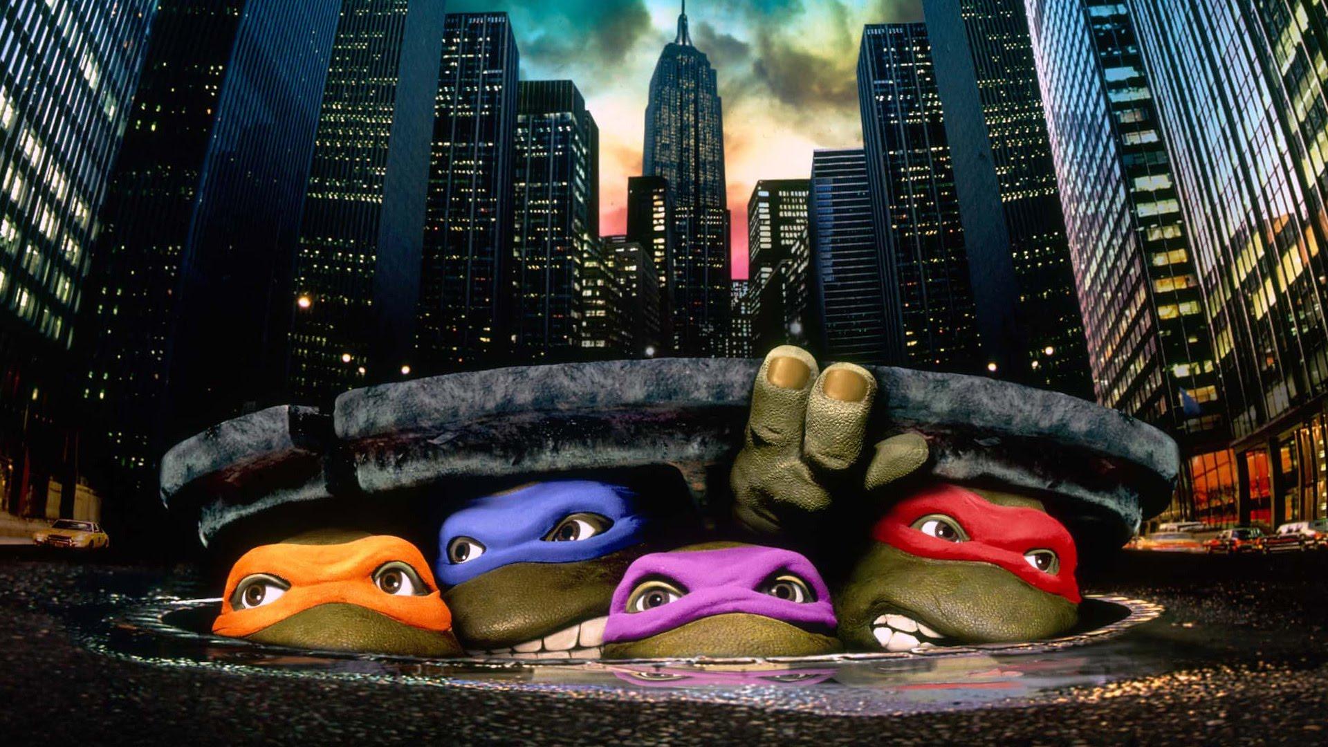 Teenage Mutant Ninja Turtles The Original Movie 1990 Spindleworks