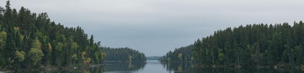 Panoramic View of Wahgoshig Lake