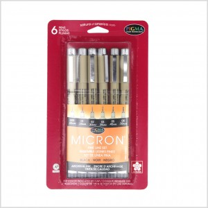 Pigma Micron Drawing Pen Set