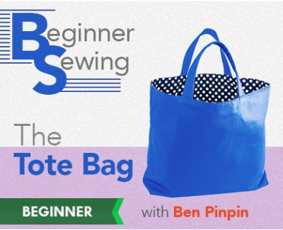Sewing a Tote Bag: Video Tutorial