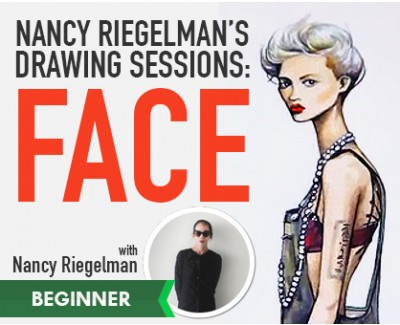 Nancy Riegelman: Drawing | THE FASHION FACE