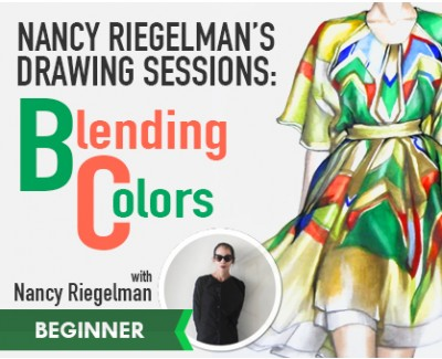Nancy Riegelman: Drawing | BLENDING COLORS