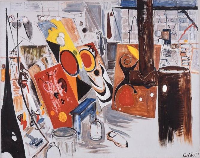 Alexander Calder. My Shop, 1955. Calder Foundation, New York / Art Resource, NY. © 2018 Calder Foundation, New York / Artists Rights Society (ARS), New York
