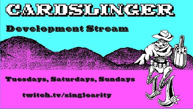 I am starting up a development stream! Doing a bonus test stream today. Come hang out and watch some #gamedev!