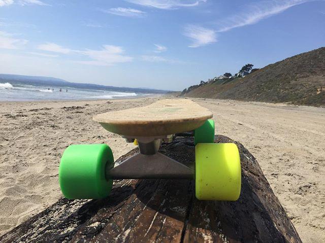 Hemp composites in Monterey Bay ✌️ #sustainable #hemp #skateboard