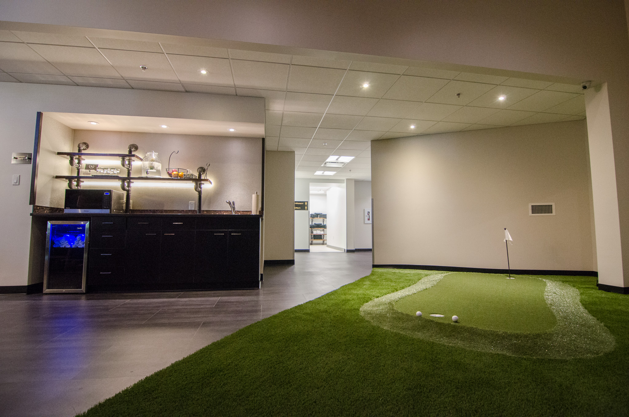 Putting/Chipping green