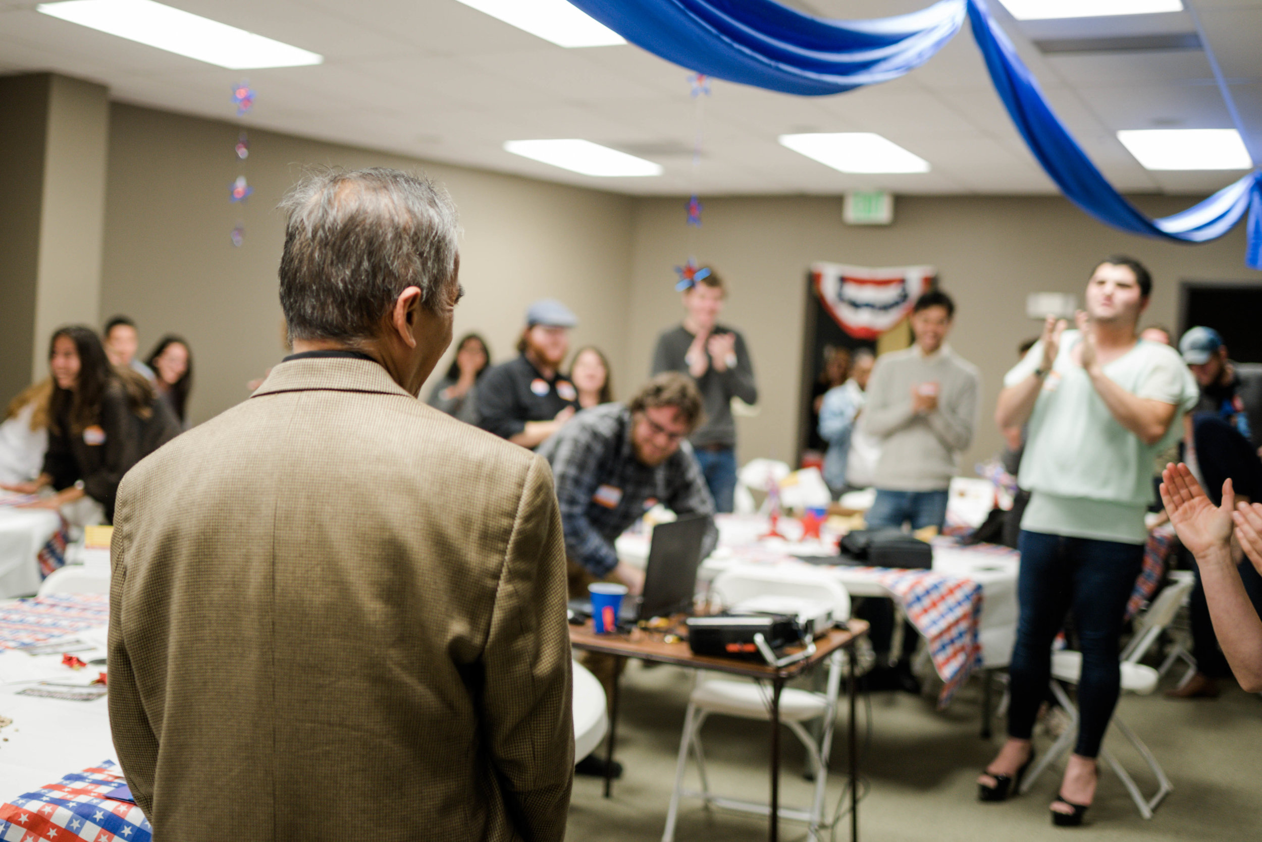 A big round of applause for the leaders of Colorado Immigrants Rights Coalition