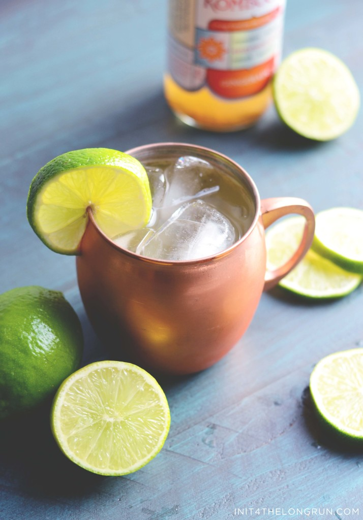 healthy moscow mule