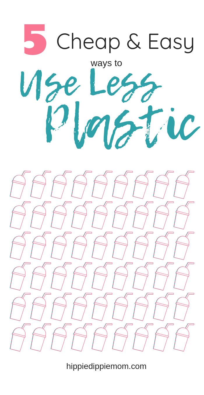 how to use less plastic