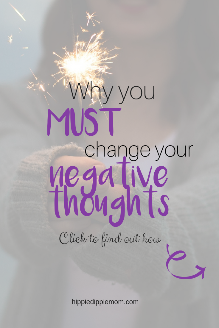 change negative thoughts