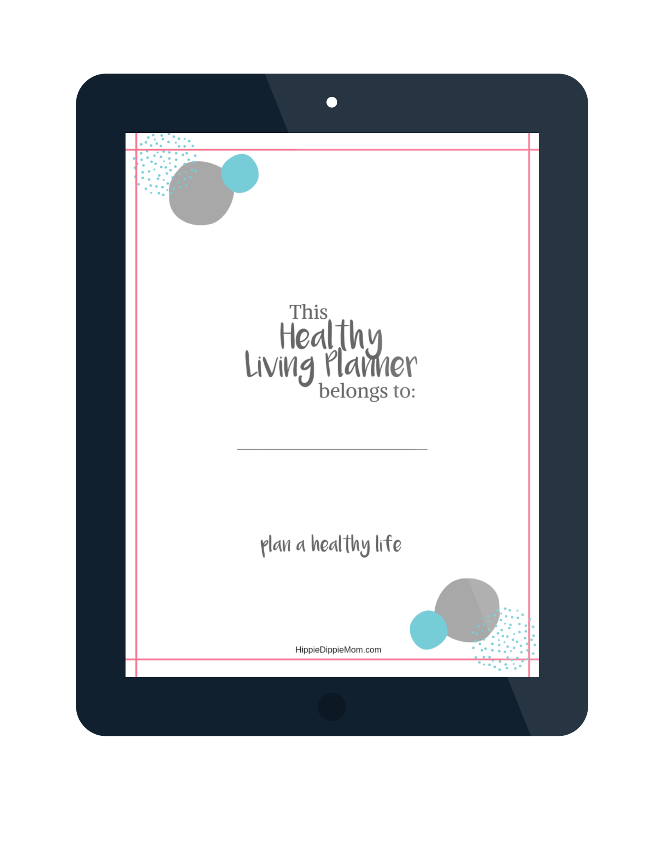 healthy living planner