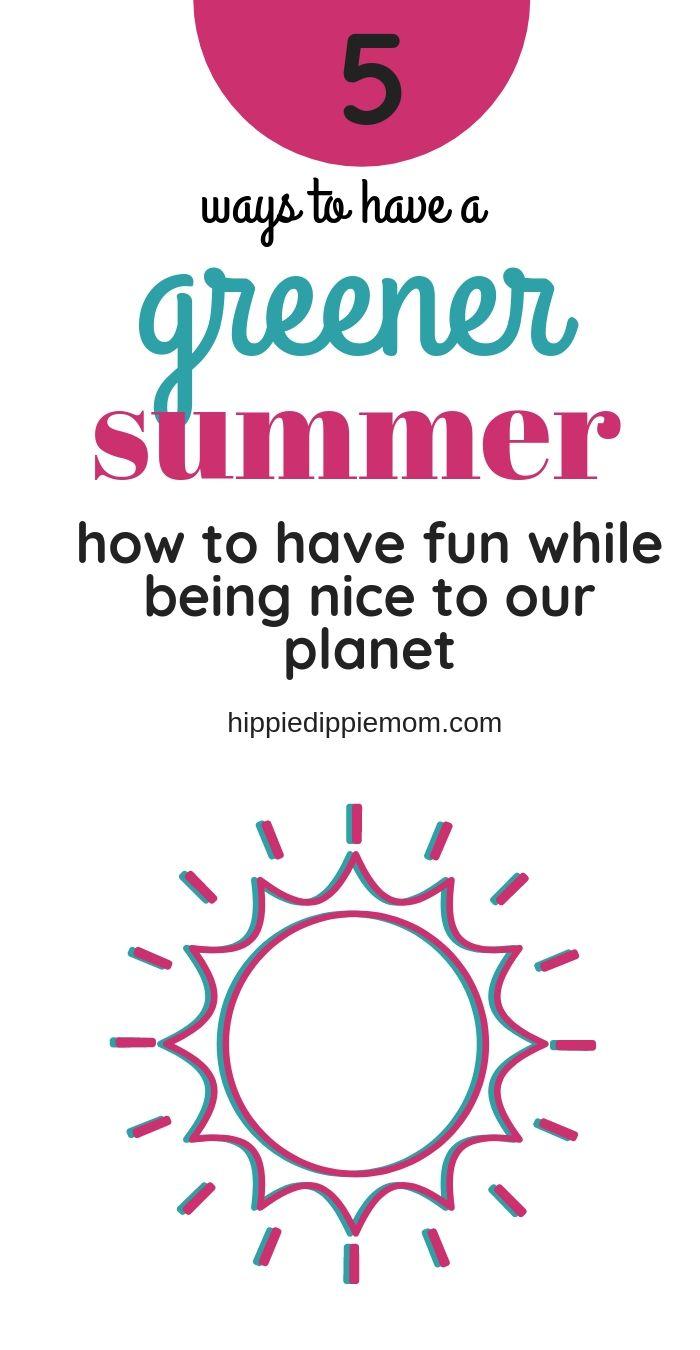 eco friendly summer