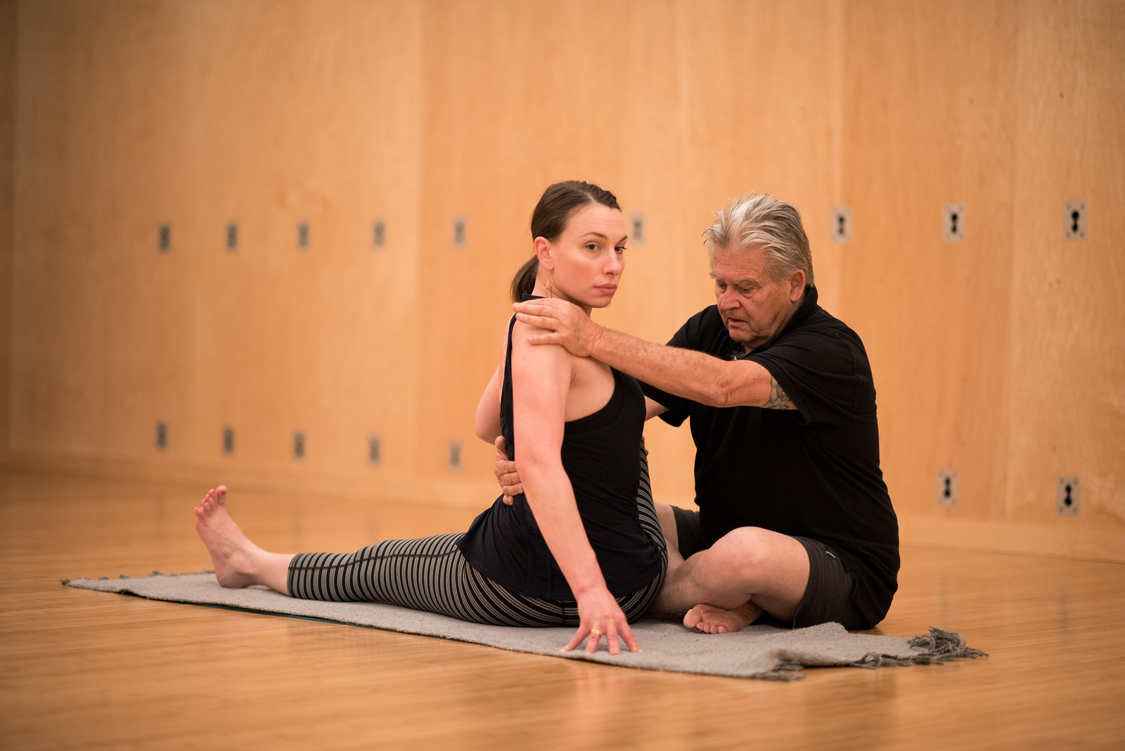 Tony Briggs Yoga | Instructed adjustment