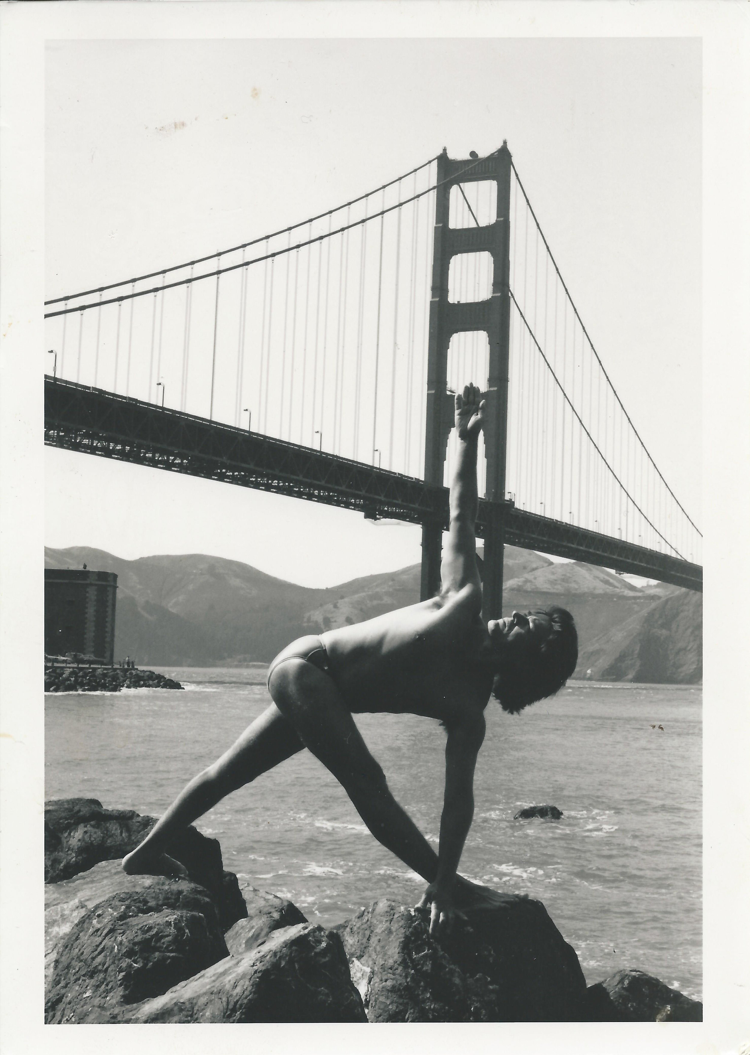 Tony Briggs Yoga | Golden Gate Bridge San Franciso