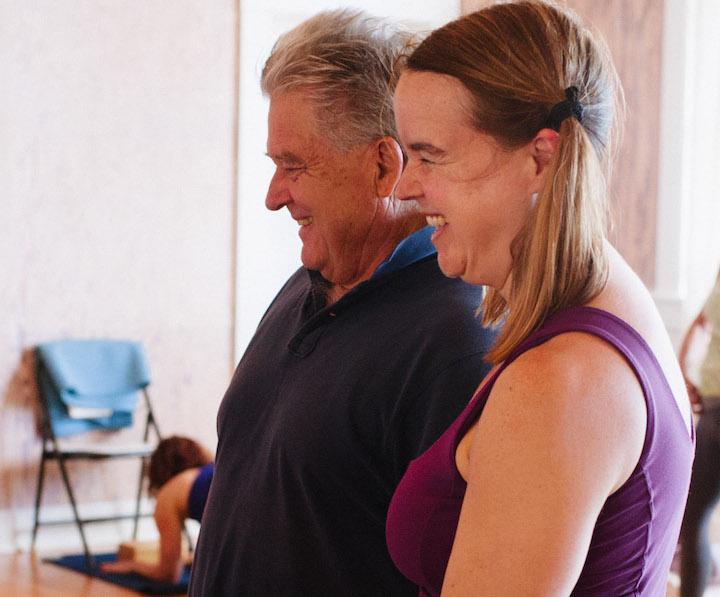 Tony Briggs Yoga | Heidi Manly
