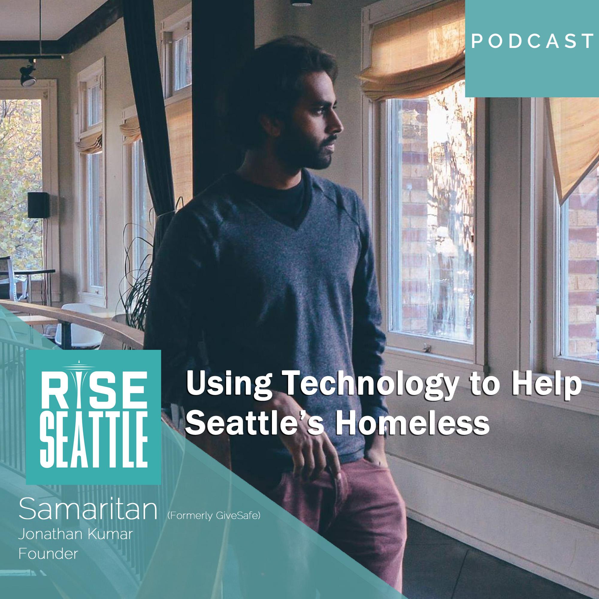 S1.E10 Jonathan Kumar: Using Technology to Help Seattle's Homeless