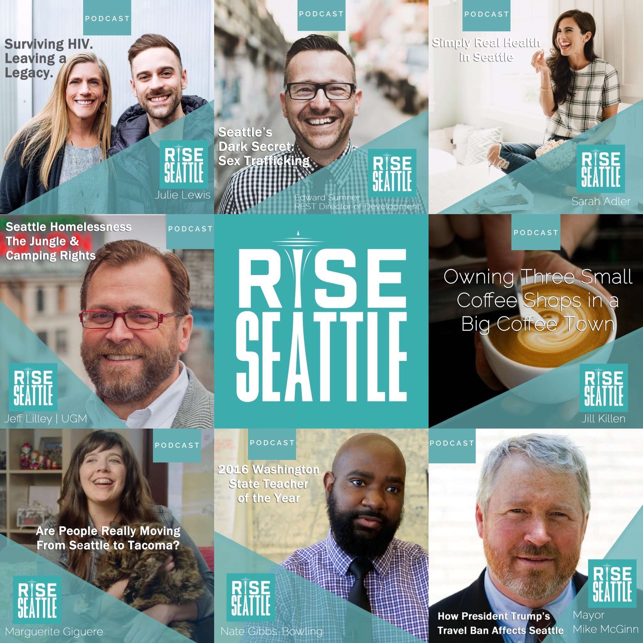 The BEST OF Season 1: Rise Seattle Podcast