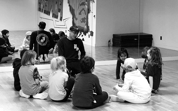 Siah has a very strong influence on his students in more ways than just dance; he helps them become better and more adjusted . Photo by Ricardo Garcia