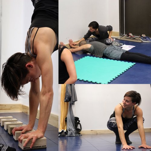 Feb 4: Handstand Workshop with Kim Ilott