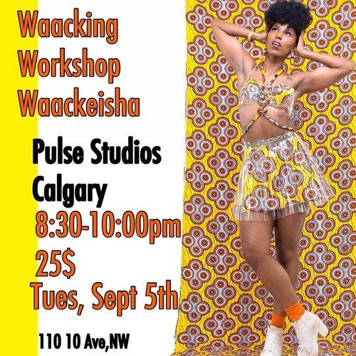 Sept 5: Waacking Workshop with Waackeisha