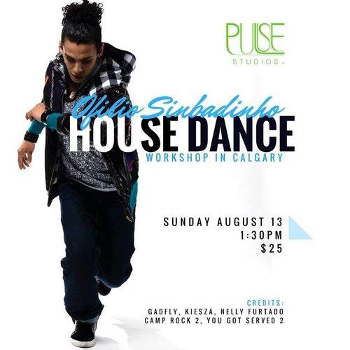 Aug 13: House Workshop with Ofilio