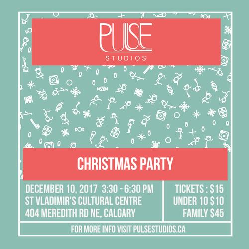 Dec 10: Pulse Christmas Party
