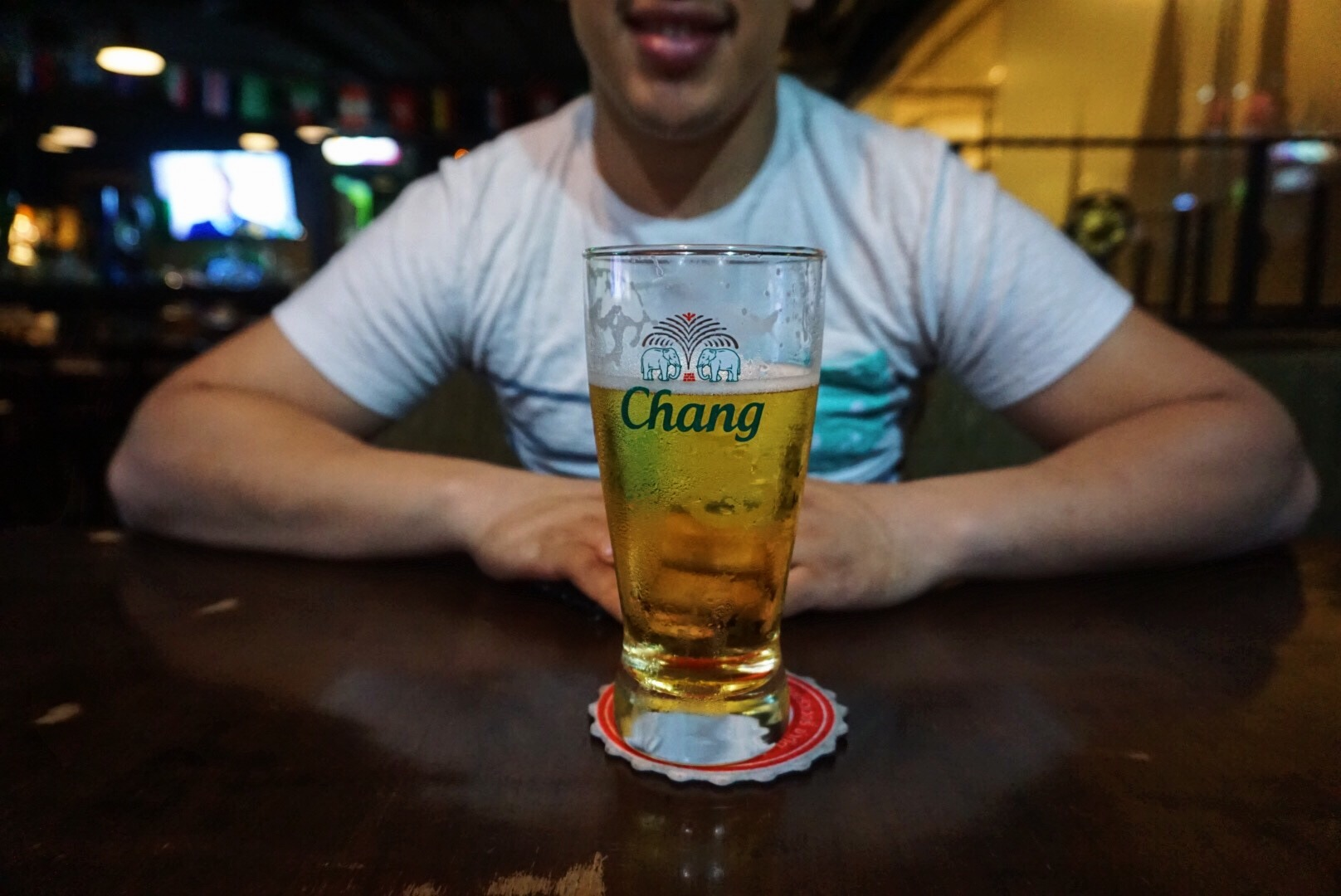"""""""You know what I could go for right now? A nice cold Chang!"""""""