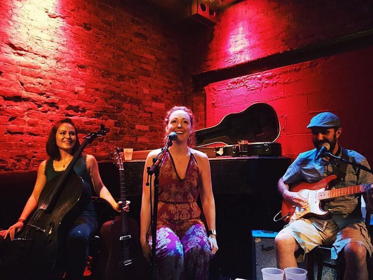 Hugh and Me: Leah Rankin, Kelsey Hughen, and Johnny Cuomo