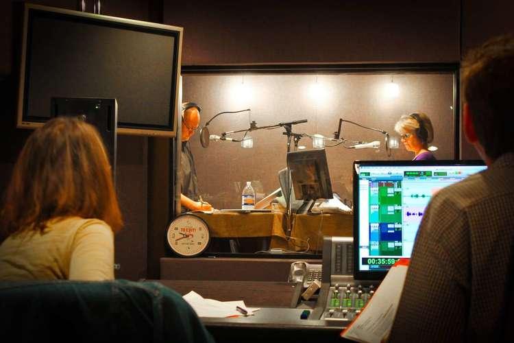 Recording in Studio C