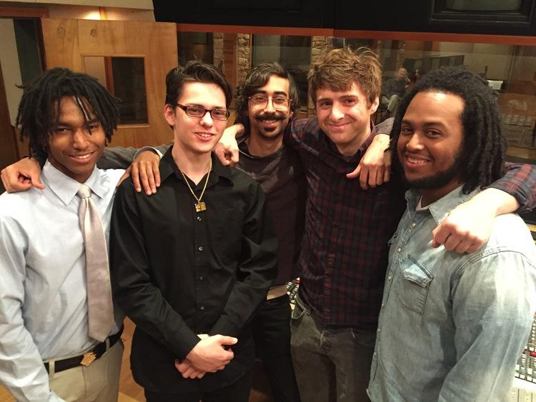 TRAC Graduates Aaron Maree-Jones, Joey Peloso, Devin Capote, Alex Gehring, and Jacob Powell