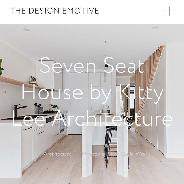 The Design Emotive April 2019 | Seven Seat House